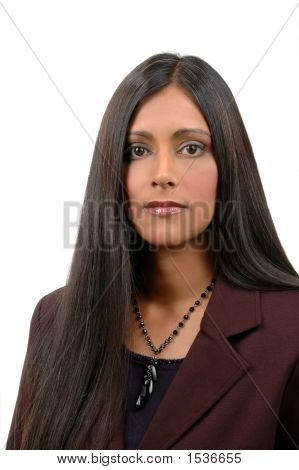 Young Indian Businesswoman