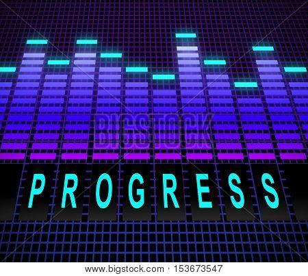 Progress Levels Concept.