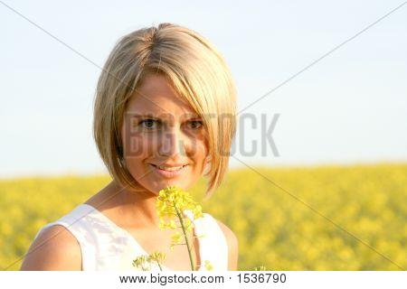 Horario de verano - bella mujer