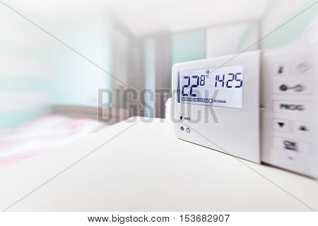 system climate control, smart house. home control