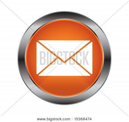 Button Letter White