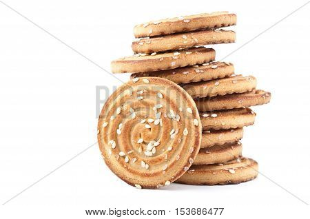 Delicious Cookies Isolated