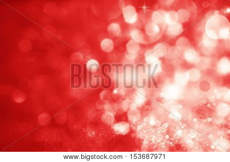 defocused luxury abstract red Christmas background .