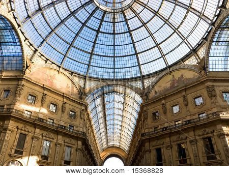 Milan trade center. Popular tourist place.
