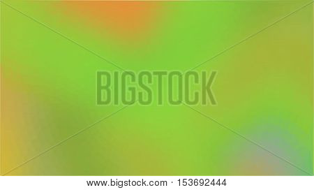 Green orange triangle circle business abstract background