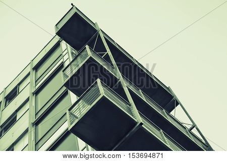 Abstract Contemporary Architecture
