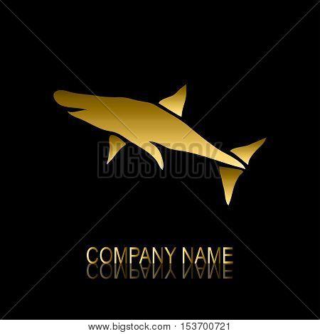 Golden Shark Symbol