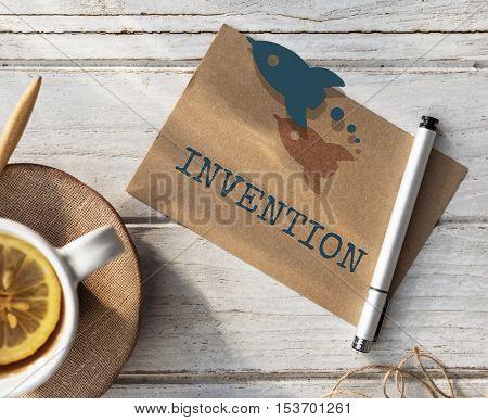 Target Strategy Imagination Inspiration Concept