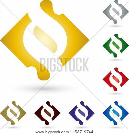 Paragraph sign, colored, sign, law Lawyer logo