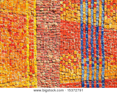 Color tiles pattern mosaic texture A  high resolution image of a mosaic texture making this a good background.