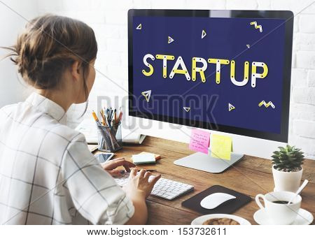 Start up New Business Launch Concept