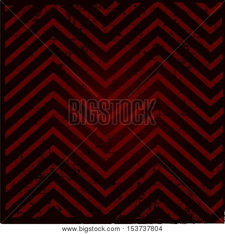 Background pattern zig-zag -red and black color