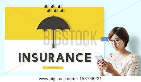 Insurance Protection Security Graphic Concept