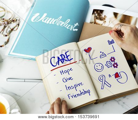 Care Support Assistance Help Concept