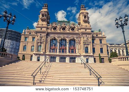 Principality of Monaco: Monte Carlo Casino, Grand Theatre
