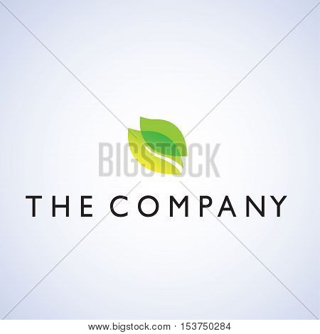 leaf ideas design vector illustration on background