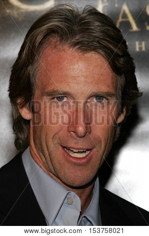 Michael Bay at the Los Angeles premiere of 'The Texas Chainsaw Massacre: The Beginning' held at the Grauman's Chinese Theater in Hollywood, USA on October 5, 2006.