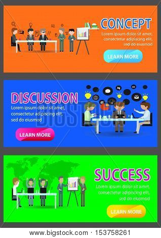 This design is suitable for a business theme, teamwork, and related businesses