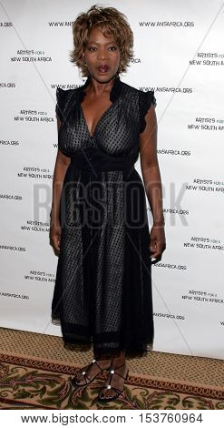 Alfre Woodard at the Archbishop Desmond Tutu's 75th Birthday Party held at the Regent Beverly Wilshire Hotel in Beverly Hills, USA on September 18, 2006.