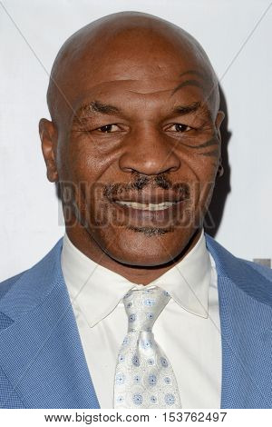 LOS ANGELES - OCT 25:  Mike Tyson at the Hollywood Walk of Fame Honors at Taglyan Complex on October 25, 2016 in Los Angeles, CA
