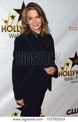 LOS ANGELES - OCT 25:  Deidre Hall at the Hollywood Walk of Fame Honors at Taglyan Complex on October 25, 2016 in Los Angeles, CA