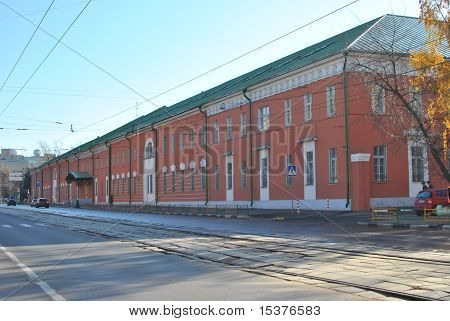 old barracks in Moscow