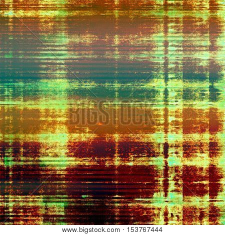 Antique frame with grunge background. With different color patterns: yellow (beige); brown; green; red (orange); purple (violet)
