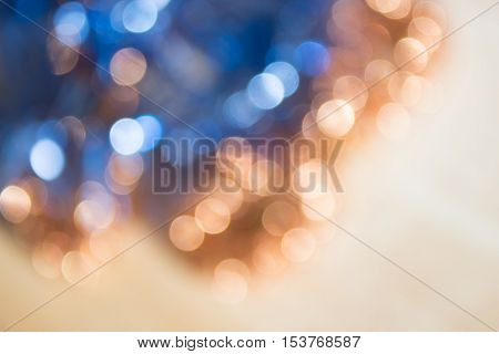 Colorful abstract defocused circle lights holidays background