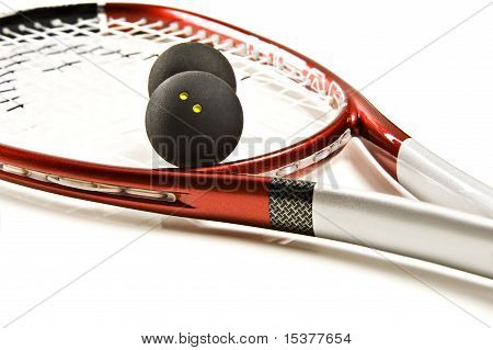 Racket And Ball