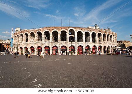 Berühmten Arena von Verona