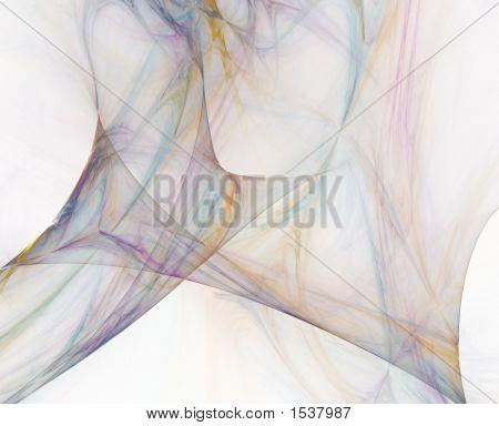Sherbert Pastels Abstract Fractal