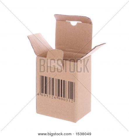 Cardboard Box With Barcode