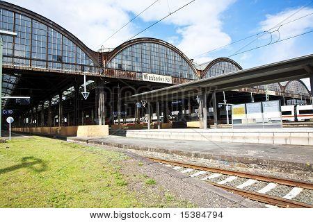 Classicistic Iron Train Station