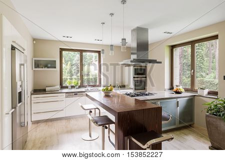 Spacious Kitchen Area