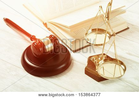 Law Gavel Justice Symbol