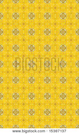 Background Seamless Wallpaper- Gold