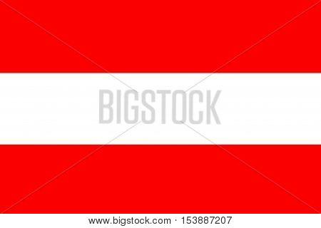 Austria flag ,Austria national flag illustration symbol.