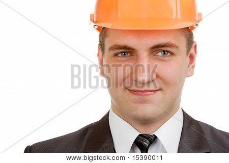 Smiling Engineer In Hardhat