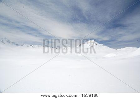 High Peak Snowfield