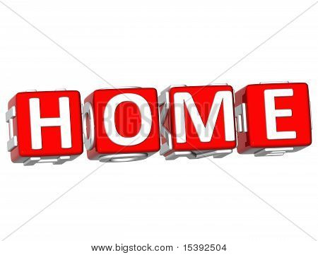 Home Cube Text
