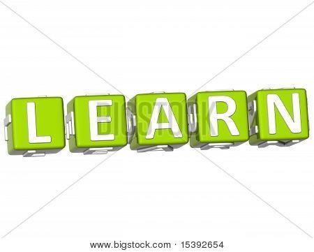 Learn Cube Text