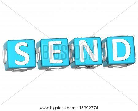 Send Cube Text