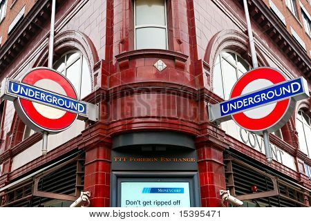 London - March 15:transport For London Announced That The 'underground' Logo Will Also Be Used For O
