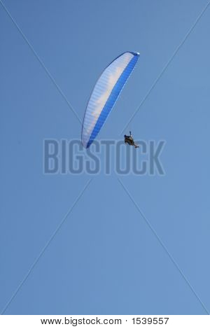 Paraglider - Blue Canopy