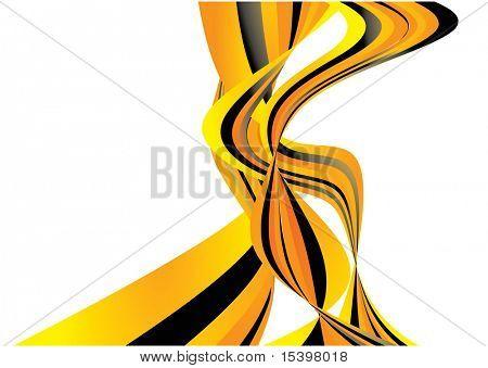Vector fractal background #7