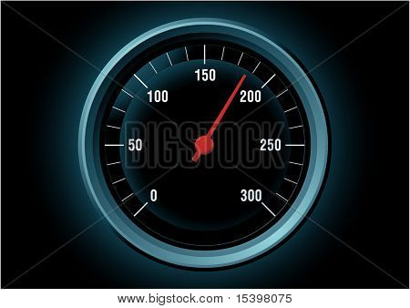 Speed. Vector illustration