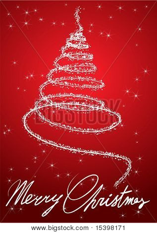 Decoração de Natal. Ilustração vetorial.