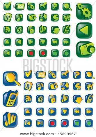 Icon set. Vector.