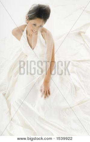 Bride In Dress
