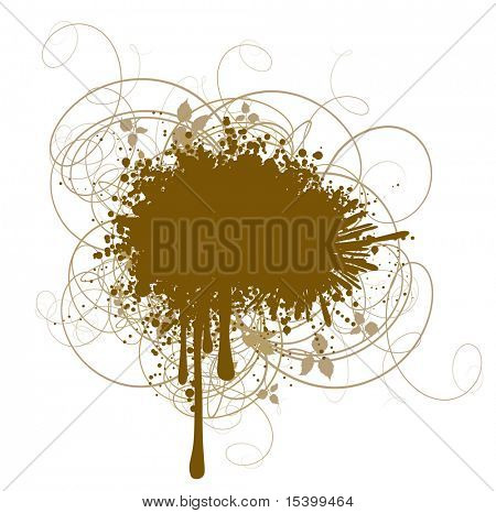 Grunge decoration. Vector.